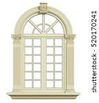 Classic Arch Window With...