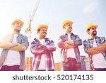 business  building  teamwork... | Shutterstock . vector #520174135
