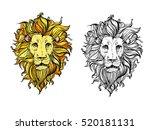 hand drawn illustration of... | Shutterstock . vector #520181131