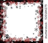 christmas frame  | Shutterstock .eps vector #520184275
