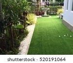 home golf course  architecture... | Shutterstock . vector #520191064