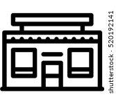 shop icon | Shutterstock .eps vector #520192141
