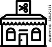 barbershop icon | Shutterstock .eps vector #520192951