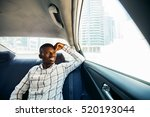 african guy traveling as... | Shutterstock . vector #520193044