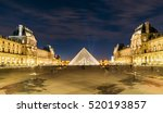 paris  france   november 21 ... | Shutterstock . vector #520193857