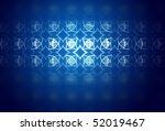 blue texture  modern design... | Shutterstock . vector #52019467