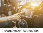 transportation technology and... | Shutterstock . vector #520202485