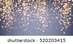 festive purple and golden... | Shutterstock .eps vector #520203415