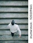 top view of urban athlete...   Shutterstock . vector #520209661