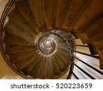 spiral steps of the monument in ... | Shutterstock . vector #520223659
