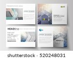 set of business templates for... | Shutterstock .eps vector #520248031