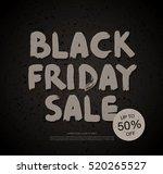 black friday sale banner | Shutterstock .eps vector #520265527
