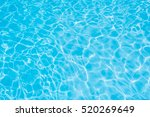 Blue Water Surface In Swimming...
