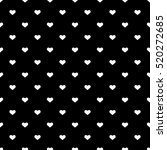 heart seamless background. | Shutterstock .eps vector #520272685