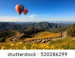 landscape nature flower tung... | Shutterstock . vector #520286299