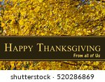 happy thanksgiving greeting ... | Shutterstock . vector #520286869