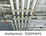 water pipe system. pumping...   Shutterstock . vector #520293691