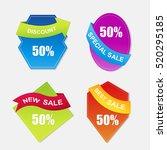 web sale banner | Shutterstock .eps vector #520295185