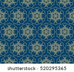 creative gothic floral...   Shutterstock .eps vector #520295365