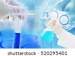 chemistry medicine research at...   Shutterstock . vector #520295401
