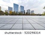 empty floor with modern... | Shutterstock . vector #520298314