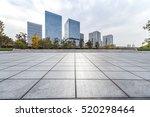 empty floor with modern... | Shutterstock . vector #520298464
