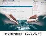developer development web code... | Shutterstock . vector #520314349