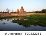 shore temple  world heritage... | Shutterstock . vector #520322251
