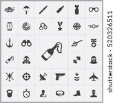 army icons universal set for... | Shutterstock .eps vector #520326511