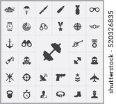 army icons universal set for... | Shutterstock .eps vector #520326835
