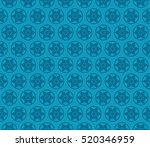 damask floral seamless pattern... | Shutterstock .eps vector #520346959