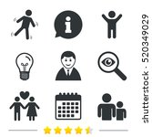businessman person icon. group... | Shutterstock .eps vector #520349029