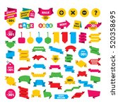 web stickers  banners and... | Shutterstock .eps vector #520358695