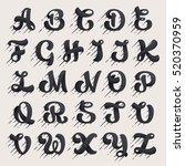 Alphabet Letters Set. Fast...