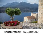 mani peninsula in greece | Shutterstock . vector #520386007