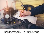 air conditioning master... | Shutterstock . vector #520400905