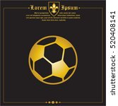 web icon. football | Shutterstock .eps vector #520408141