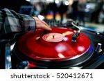 Music From Vinyl. Hands Dj...