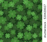 seamless pattern illustration... | Shutterstock .eps vector #520420027