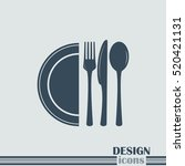 vector illustration sign with... | Shutterstock .eps vector #520421131