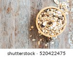 old country style muesli  | Shutterstock . vector #520422475