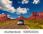 Highway In Monument Valley ...