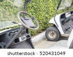 Golf Cart Or Club Car Park