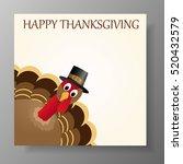 happy thanksgiving celebration... | Shutterstock .eps vector #520432579