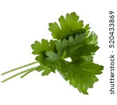 Fresh Parsley Herb  Leaves...