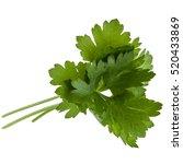 Fresh Parsley Herb  Leaves...