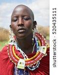 africa  tanzania   february... | Shutterstock . vector #520435111