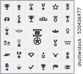 award icons universal set for...   Shutterstock .eps vector #520436977