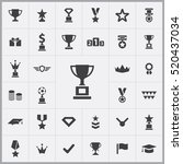 award icons universal set for... | Shutterstock .eps vector #520437034