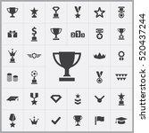 award icons universal set for...   Shutterstock .eps vector #520437244